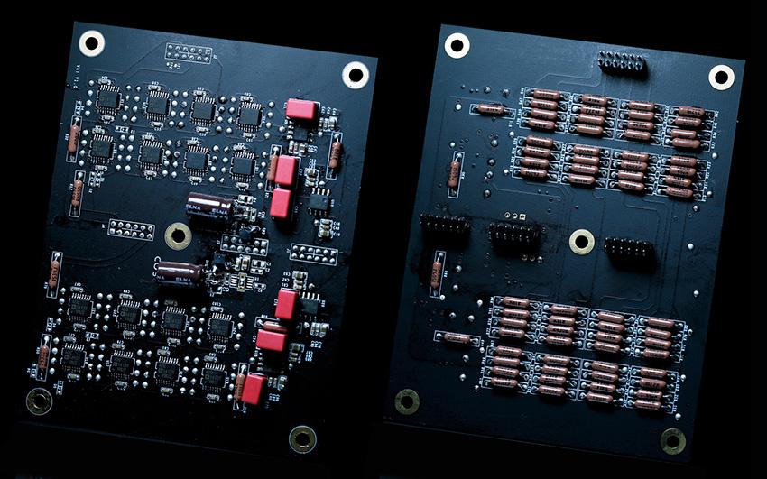 COS D2 analog volumkort med mostander
