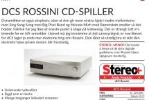 dCS Rossini - årets cd-spiller/dac