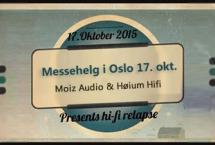 Messehelg i Oslo 17. oktober